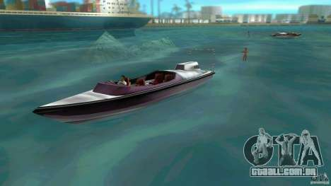 Ski Speeder para GTA Vice City deixou vista