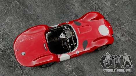 Maserati Tipo 60 Birdcage para GTA 4 vista direita