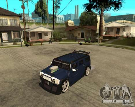 AMG H2 HUMMER Jvt HARD exclusive TUNING para GTA San Andreas