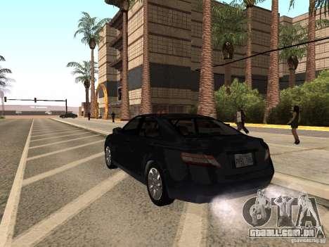 Toyota Camry 2010 para GTA San Andreas esquerda vista