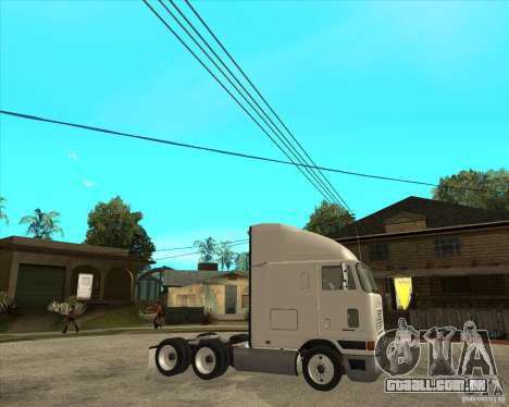 Navistar International 9800 para GTA San Andreas vista direita