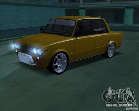 Drift VAZ 2106 para GTA San Andreas vista superior