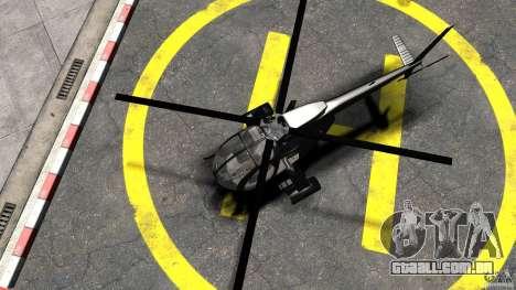 AH-6 LittleBird Helicopter para GTA 4 vista direita