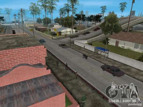 Novo Groove Street para GTA San Andreas segunda tela