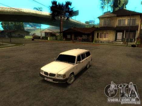 GAZ VOLGA 310221 TUNING versão para GTA San Andreas esquerda vista