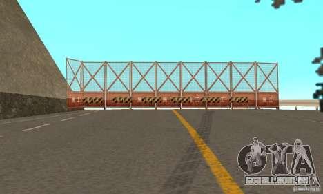 Welcome to AKINA Beta3 para GTA San Andreas sexta tela