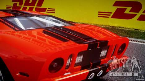 Ford GT 2006 v1.0 para GTA 4 interior