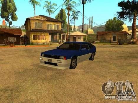 Spawn de carros para GTA San Andreas sexta tela