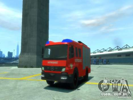 Mercedes-Benz Atego Fire Departament para GTA 4
