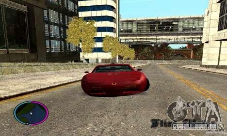 Axis Piranha Version II para GTA San Andreas traseira esquerda vista
