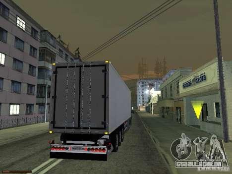 Reboque luzes v 3.0 para GTA San Andreas segunda tela