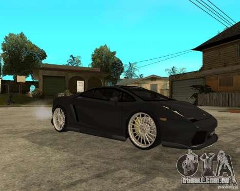 Lamborghini Gallardo HAMANN Tuning para GTA San Andreas vista direita