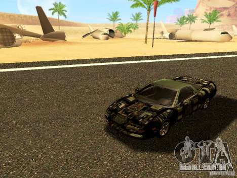 Honda NSX Custom para vista lateral GTA San Andreas