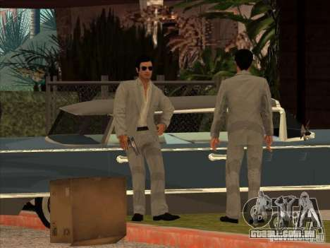 Vito Scaletta Made Man para GTA San Andreas terceira tela