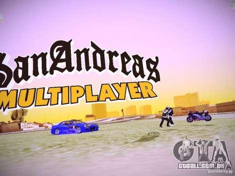 A possibilidade de substituir timecyc no SA: MP para GTA San Andreas terceira tela
