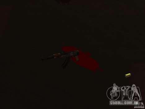 Pak versão doméstica de armas 2 para GTA San Andreas por diante tela