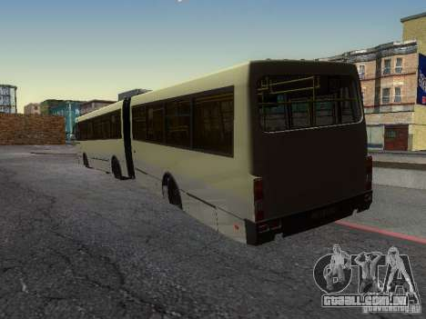 Laz-А291 para GTA San Andreas vista interior