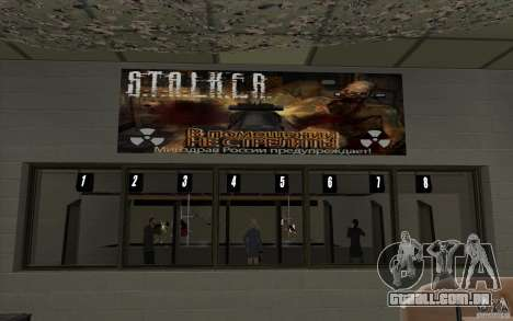 Loja de arma S. T. A. L. k. e. R para GTA San Andreas sétima tela