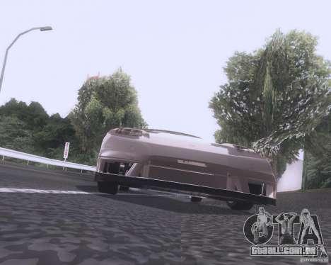 Honda NSX Japan Drift para GTA San Andreas vista traseira
