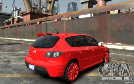 Mazda 3 para GTA 4 vista direita