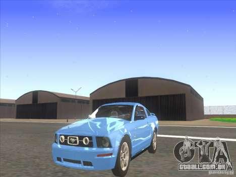 Ford Mustang Pony Edition para GTA San Andreas