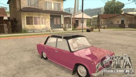 VAZ 2101 Dag para GTA San Andreas vista traseira
