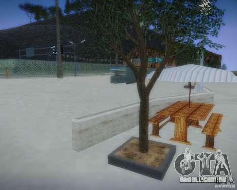 Novos padrões de lazer para GTA San Andreas quinto tela