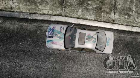 Nissan Laurel GC35 Itasha para GTA 4 vista direita
