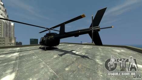 Helicopter Generation-GTA para GTA 4 traseira esquerda vista
