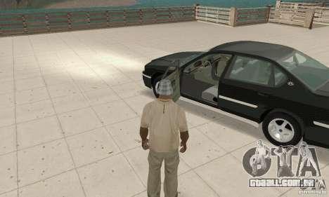 Chevrolet Impala 2003 para GTA San Andreas vista traseira