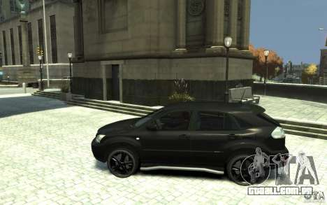 Lexus RX 400h para GTA 4 esquerda vista