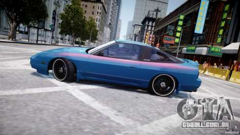 Nissan 240sx v1.0 para GTA 4 vista inferior