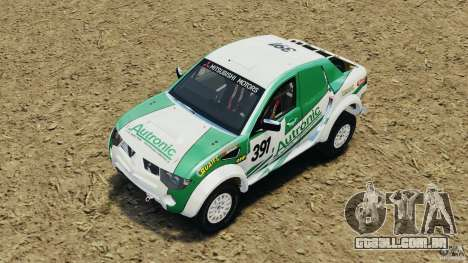 Mitsubishi L200 Triton para GTA 4 vista lateral