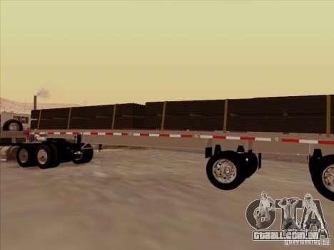 Trailer Artict1 para GTA San Andreas esquerda vista