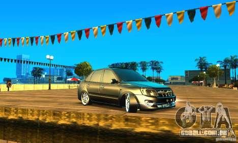Lada Granta v2.0 para GTA San Andreas esquerda vista