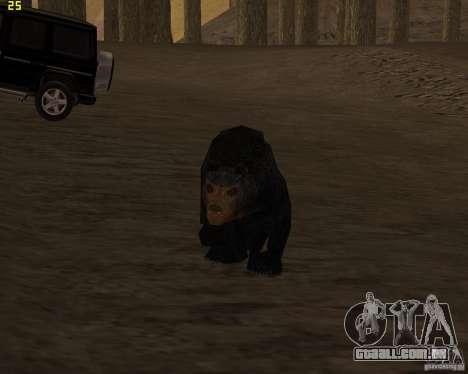 Urso para GTA San Andreas