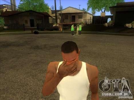 Facepalm Mod para GTA San Andreas terceira tela