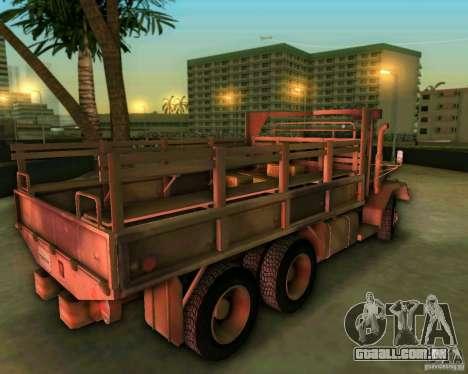 M352A para GTA Vice City vista traseira esquerda