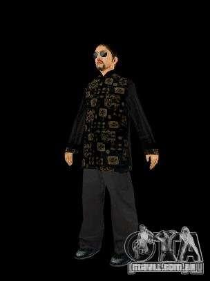 Skinpak Yakuza para GTA San Andreas terceira tela