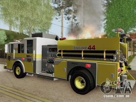 Seagrave Marauder II BCFD Engine 44 para o motor de GTA San Andreas