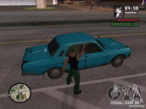 Redesenho do atuador para GTA San Andreas sexta tela