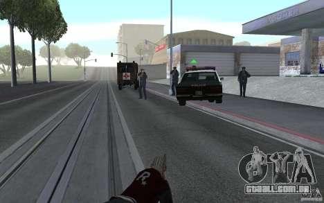 Nova animação tiro espingardas para GTA San Andreas terceira tela