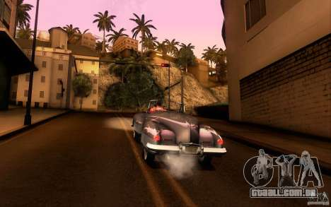 Buick Y-Job 1938 para GTA San Andreas interior
