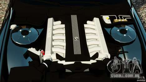 BMW 750iL E38 Light Tuning para GTA 4 vista interior