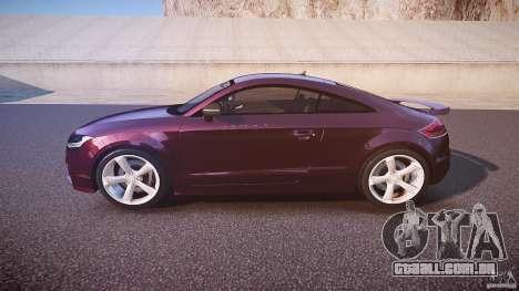 Audi TT RS v3.0 2010 para GTA 4 esquerda vista