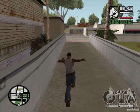 GTA 4 Anims for SAMP v2.0 para GTA San Andreas terceira tela