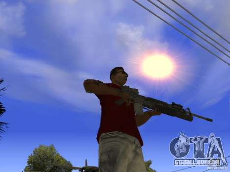 M4 Arma para GTA San Andreas