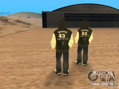 Ken Block Family para GTA San Andreas terceira tela