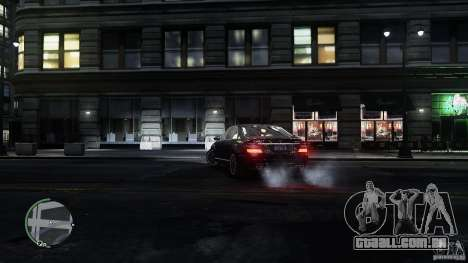Mercedes-Benz S65 AMG para GTA 4 interior