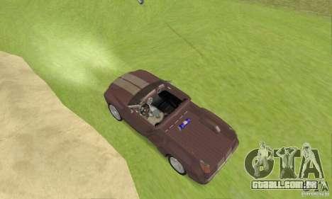 Dodge Sidewinder Concept 1997 para GTA San Andreas traseira esquerda vista